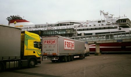 Прерывание времени отдыха для въезда на судно и выезда с него